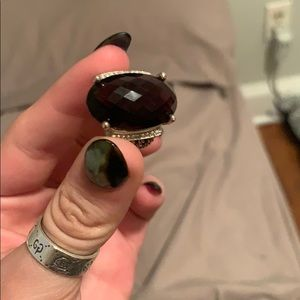 David Yurman Jewelry - David Yurman Wheaton 26x16 amethyst